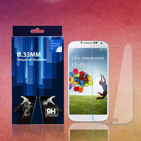 privacy screen protector for samsung galaxy s4 tempered glass film 0.3mm curved series with strong protection