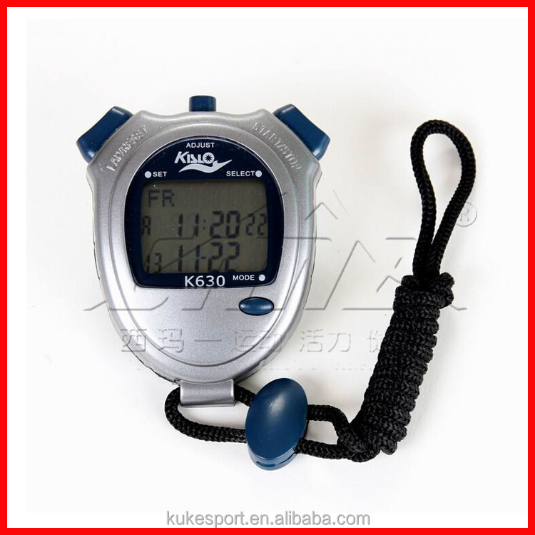 Factory direct 30 memeory multifunction profession sport stopwatch timer chronograph