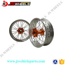 Supermoto Colored Wheel For KTM SXF 250 350 450 EXC 300 450 Motorcycle Racing Motorcycle