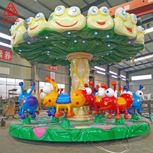 Children Indoor Amusement Equipment Ant Carousel Rides For Sales