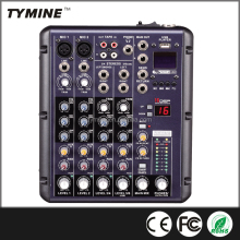 Tymine Professional karaoke audio mixer with 16 DSP and USB/MP3 TM-MX04USB&16DSP