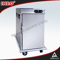 Stainless Steel Commercial Cart Electric Warmer Food Cart For Sale(INEO are professional on commercial kitchen project)