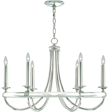 American simple design silver brass crystal candle chandelier with 6 lights