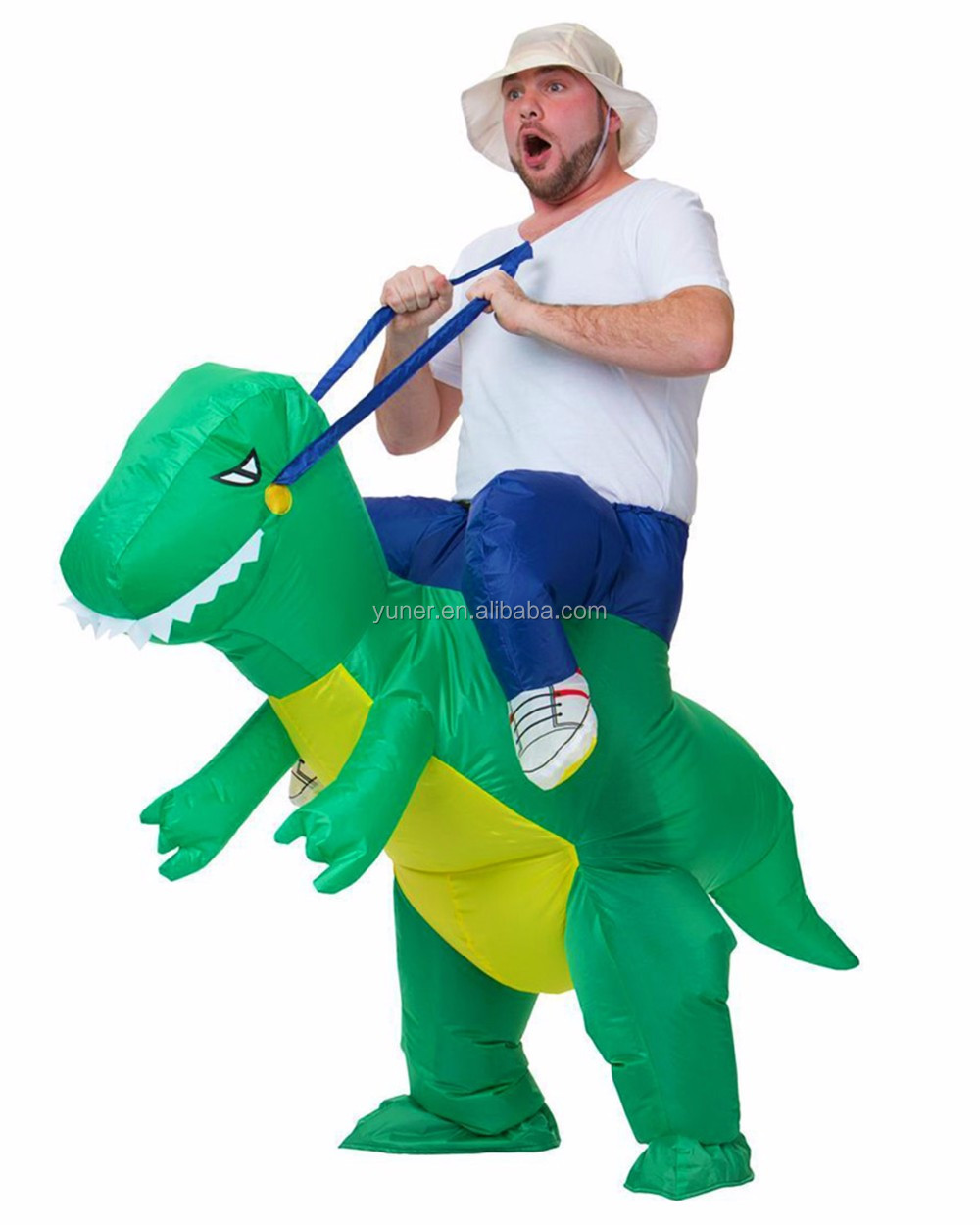 2016 High quality party supply dinosaur inflatable fat costumes