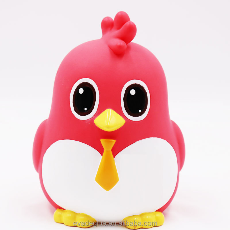 Custom Make Non-Toxic PVC Plastic Toy Bird Animal Toys for Kids