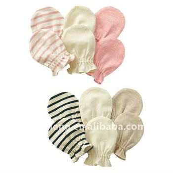 Colourful Cotton Baby Mittens Gloves Infant Items
