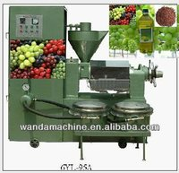 6YL-95A Grape Seeds Oil Press Machine with Filter