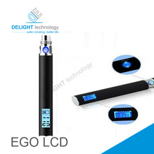 Alibaba China best rechargeable e cigeratte,variable voltage ego v v,lcd ego battery