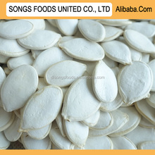 Snow white pumpkin seeds in China