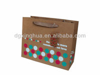 kraft paper bag with your logo