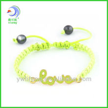 Wholesale - infinity love adjusted shamballa bracelet