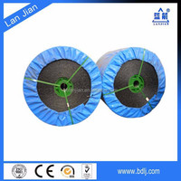 China factory honeycomb felt pvc conveyor belt joint machine