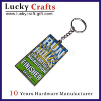 high quality custom name zinc alloy keychain distributors