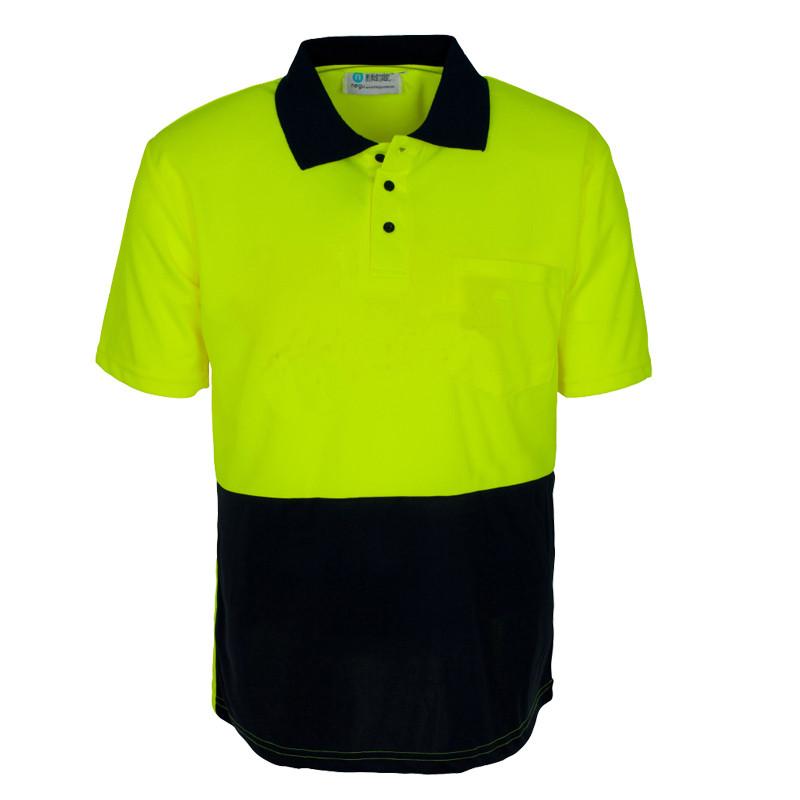 Mens Hi Vis T Shirt Hi Vis Dry Fit Polo Shirt Buy Hi Vis