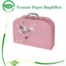 Cardboard Sliding Gift Box Paper Package ,Cardboard Birthday Gift Box Package ,Cardboard Suitcase Gift Box Wholesale