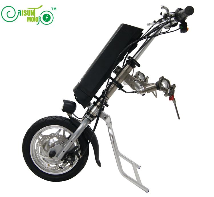 Back Function 36V 250W Electric Handcycle Wheelchair wheelchair attachment handbike DIY Conversion Kits with 36V 9AH Battery