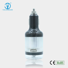 Multi Function Micro Usb Car Charger,Phone Car Charge With Life Hammer Caution Light Electric Torch Function