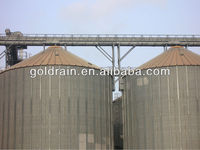 Corrugated type steel silos for farm/coffee for sales
