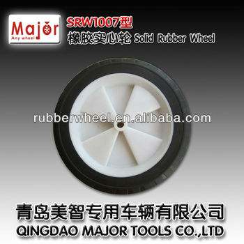 10 inch dolly wheel solid rubber tyre 10x1.75
