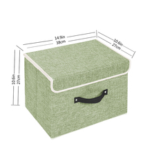 Wholesale Nursery Square Unique Household Self Storage Container With Cover