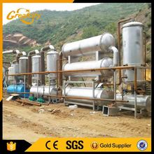 High Oil yield 10t coal to diesel pyrolysis plant / waste tire oil pyrolysis plant