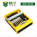 wholesale alibaba 34 in 1 precision electrical cell phone tools set box mechanic repair laptop repair tools screwdriver set