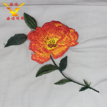 New best-selling chrysanthemum flower embroidery black lace soft tulle fabric