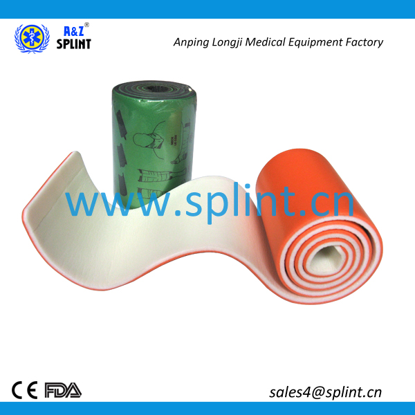 rescue equipment orthopedic stabilizer of knee brace splint