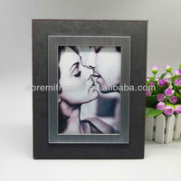 kiss couple photo picture frame with special moment