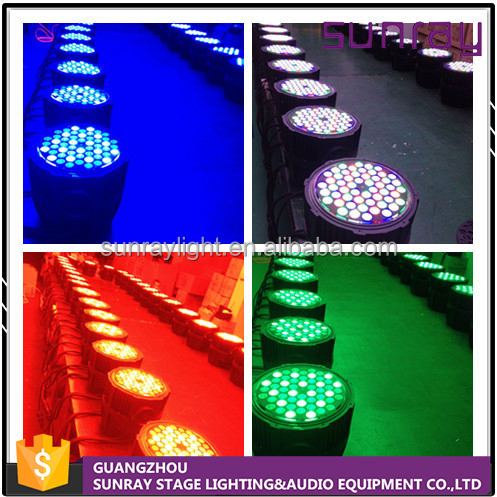 Competitive Price High Power No Flicker Master Ip65 Outdoor Stage Light Dmx512 8 Channels Control Led Par 54 Light