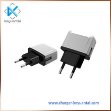 New 5V 0.5A/1A Mobile Phone Accessories Home Wall Charger,Travel Usb Charger With Eu Us Kr Plug