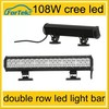 led light bar ip68 offroad led light bar 108W cree led light bar