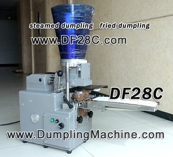 DF28C dumpling machine,steamed dumpling,fried dumpling