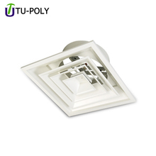 Thermostat Aluminium Square Drop Ceiling Exhaust Air Grille Air Diffuser
