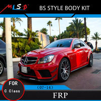 High Quality MLSD Hot Sale BS Style Body Kits for Mercedes Benz W204 AMG C-Class