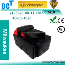 18V Nominal Voltage and Li-Ion Type milwaukee Battery