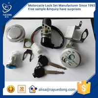 DAX125cc motorcycle lock set for honda dio parts