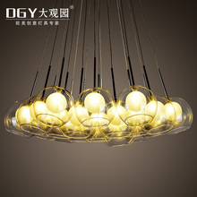 round clear glass beads round clear glass bubble chandeliers lamp