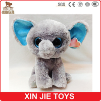 cute big eyes plush elephant toy cute stuffed elephant toy hot selling soft elephant toy