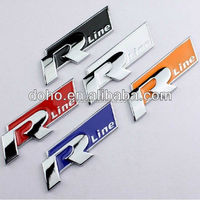 New model Custom Chrome plastic ABS car badges emblems and auto car logo metal emblems badge factory