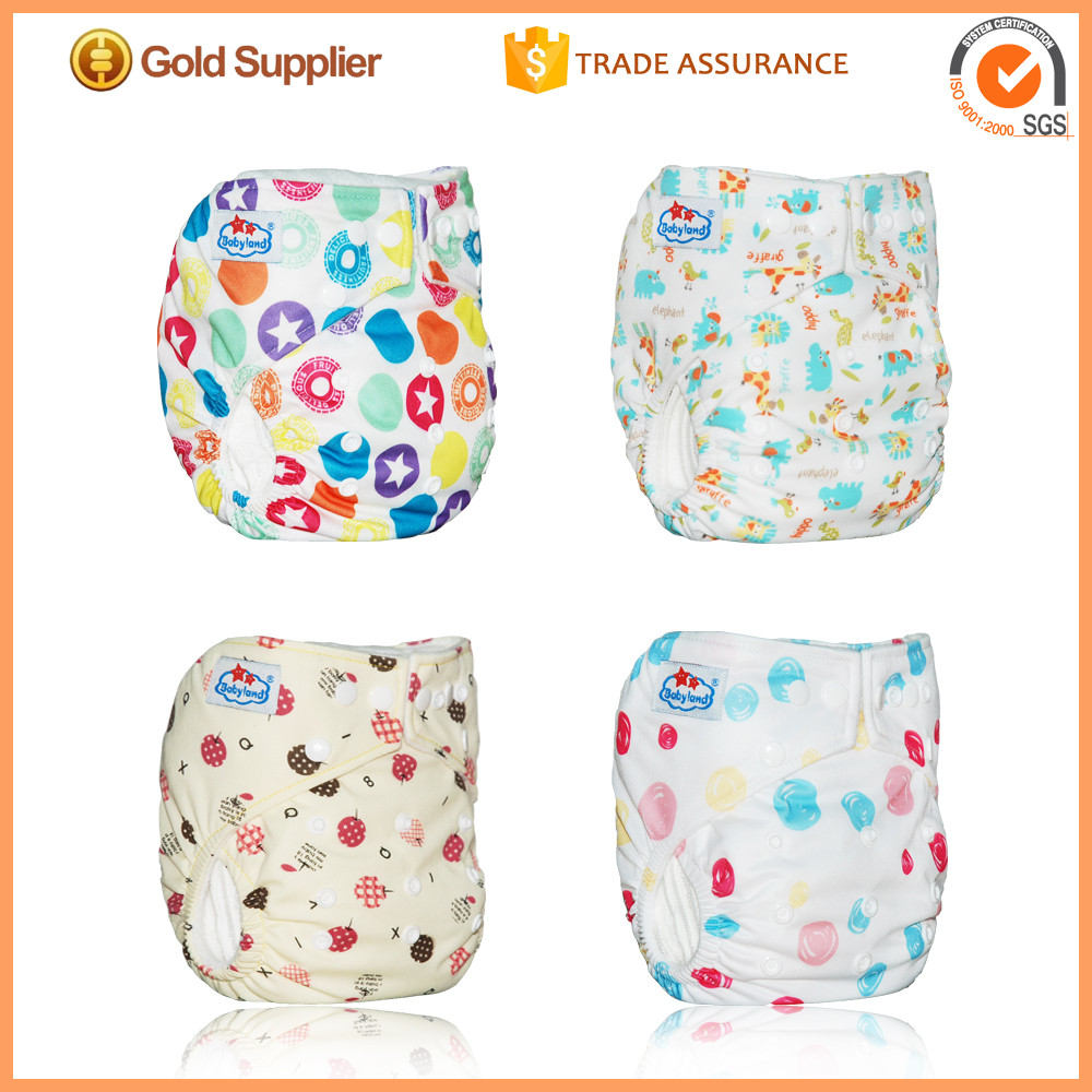 2016 Newest Washable Diapers Baby Cloth Diapers