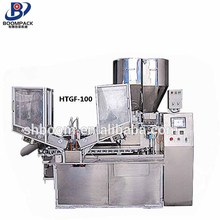 Standard Automatic Plastic Tube Double Color Toothpaste Filling Sealing Machines