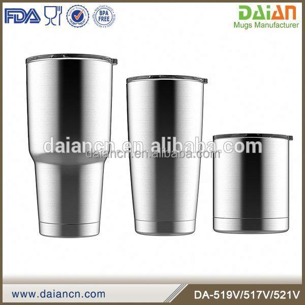Insulated stainless steel bulk coffee travel mugs