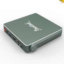 Powerful Hardware Collocation MINI PC N4200 Set Top Box Wins10 Linux mental case AP42 tv box