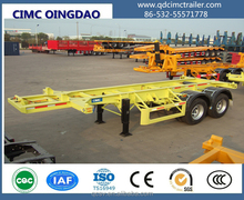 20ft 40ft 2 axles Container Chassis/Container Trailer