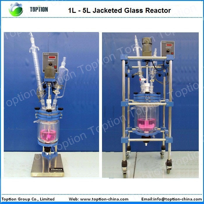 Discount super quality coil glass reactor