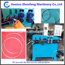 Steel wire ring making rolling machine / iron bending machine