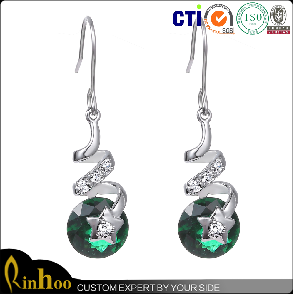 2015 latest design fashion custom earring display with factory direct price
