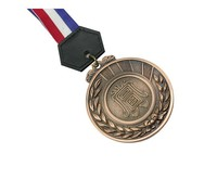 2014 custom souvenir antique copper stamped medal