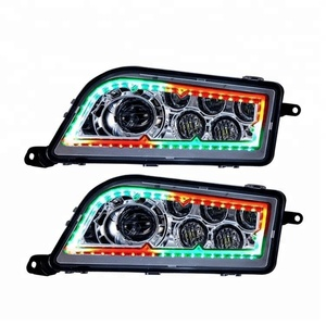 Most Popular!!! APP WIFI Bluetooth Controlled ATV RGB led headlight for RZR 1000 Polaris